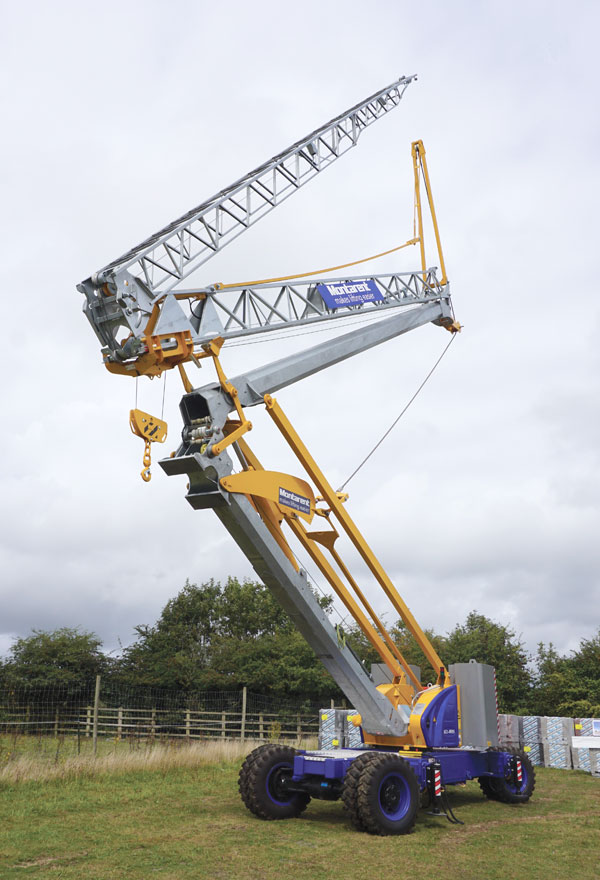 Mobile Crane Explained : Montarent makes potain mobile cranes today