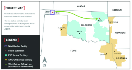 Wind Farms In Oklahoma Map.Mega Market For Onshore Wind Modern Power Systems