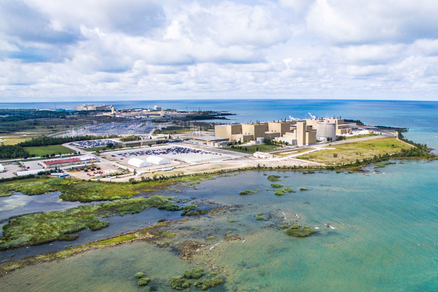 Bruce nuclear plant (Credit; Bruce Power)
