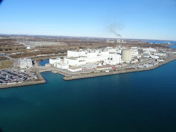 Canada's Darlington nuclear power plant