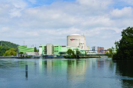 Switzerland's Beznau nuclear power plant