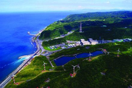 Chinshan nuclear plant in Taiwan