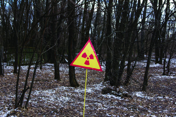 Fires are burning in Chernobyl's Red Forest