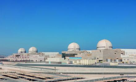 Barakah nuclear power plant (Credit: ENEC)