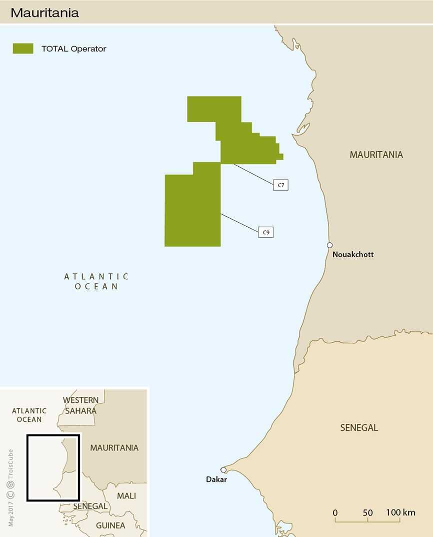 The company has signed an exploration and production contract with the  Mauritanian government to undertake exploration activities on Block C7 309ae8e70