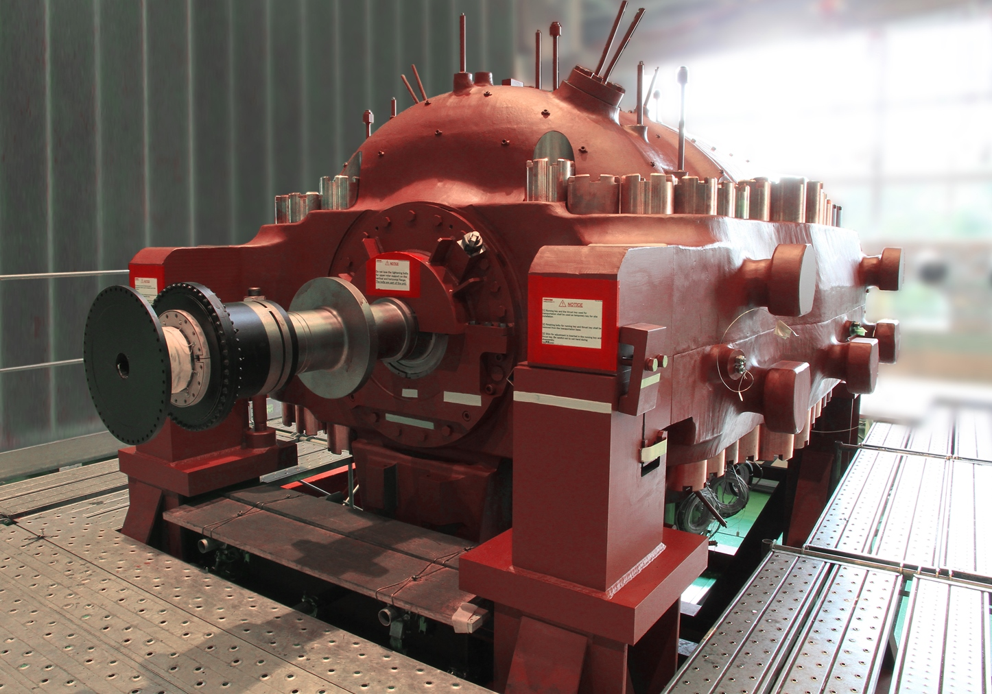Supercritical Steam Generator ~ Toshiba ships mw turbine for clean energy demonstration