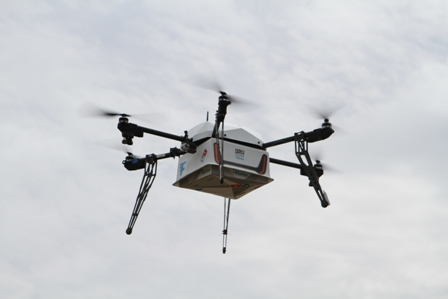 Drone delivery Pizza Wars