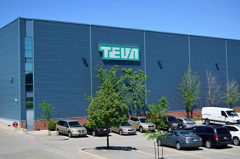 Undertaking Stock-:- Teva Pharmaceutical Industries Limited (NYSE:TEVA)