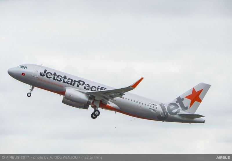 Airbus delivers a320ceo aircraft to jetstar pacific aerospace airbus has delivered its a320ceo aircraft to vietnamese carrier jetstar pacific airlines sciox Images