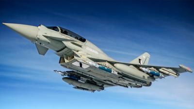 「UK Royal Air Force Eurofighter Typhoons」的圖片搜尋結果