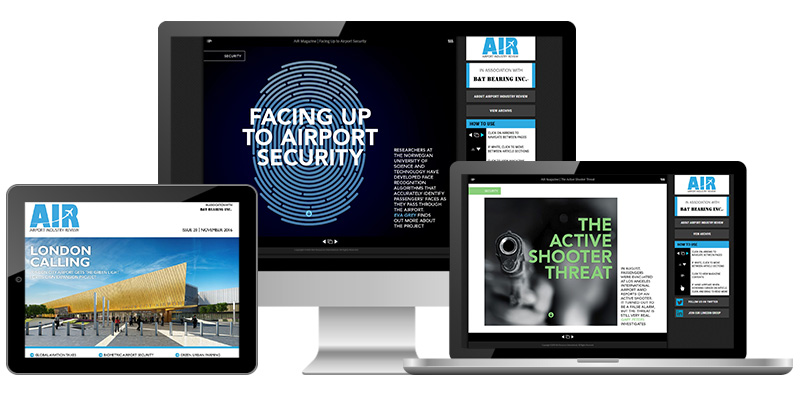 Airport Industry Review magazine November 2016