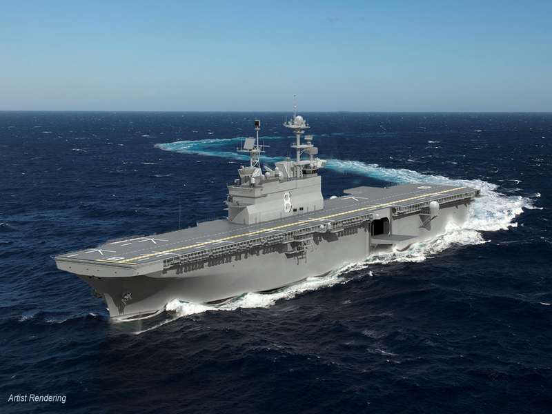 MS shipyard wins $3B contract for assault ship