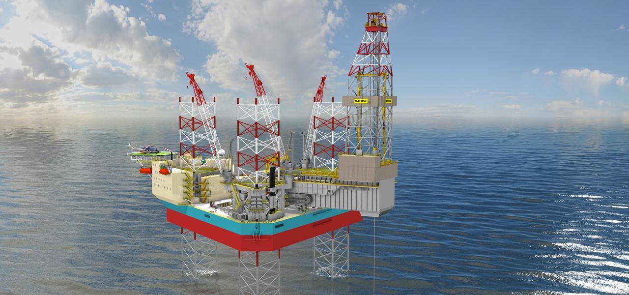 Maersk XLE drill rig