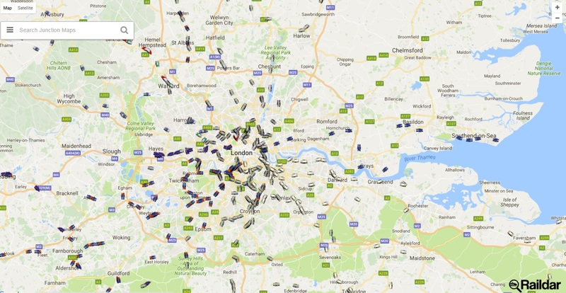 Worksheet. Raildars interactive maps a birds eye view of UK rail networks