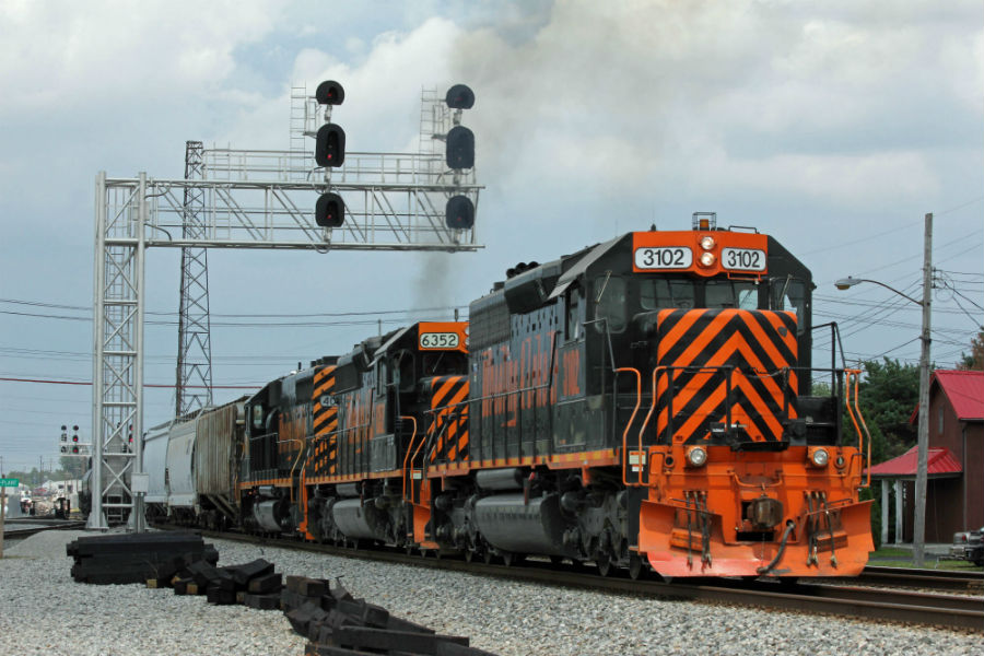 Driverless freight trains