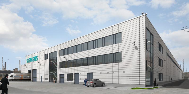 Siemens Starts Rhine Ruhr Express Depot Construction In