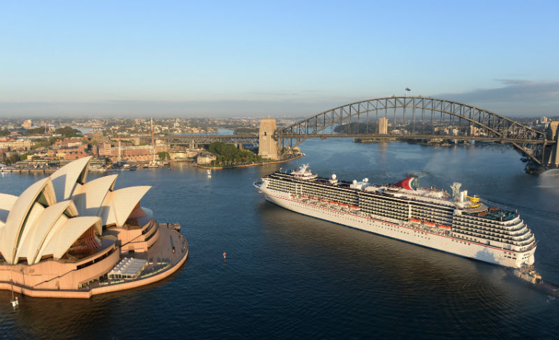Australia Cruising To Record Numbers  Ship Technology