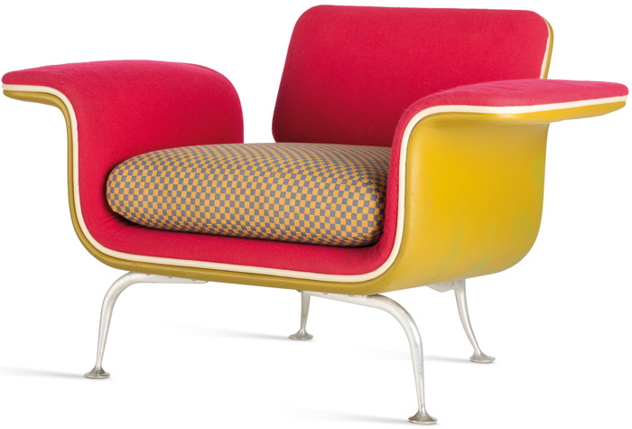 Armchair for Herman Miller, 1967. Photo: Vitra Design Museum, Jürgen Hans