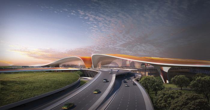 CGIs of Beijing Airport