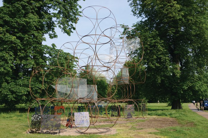 Yona Friedman's pavilion