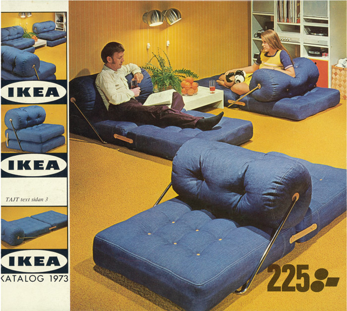 IKEA Catalogue cover image from 1973.
