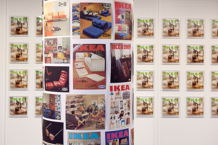 IKEA catalogue covers through the ages