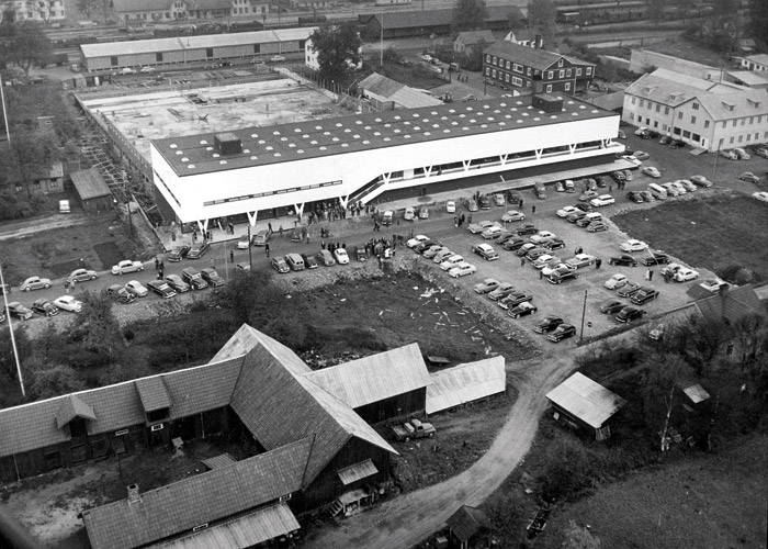 First IKEA store in Älmhult, Sweden in 1958.