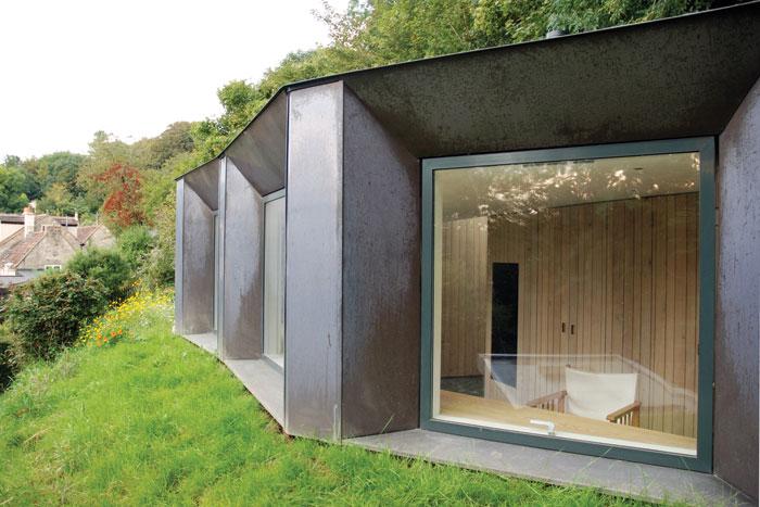 Stonewood Design's Myrtle Cottage Garden Studio (2014)