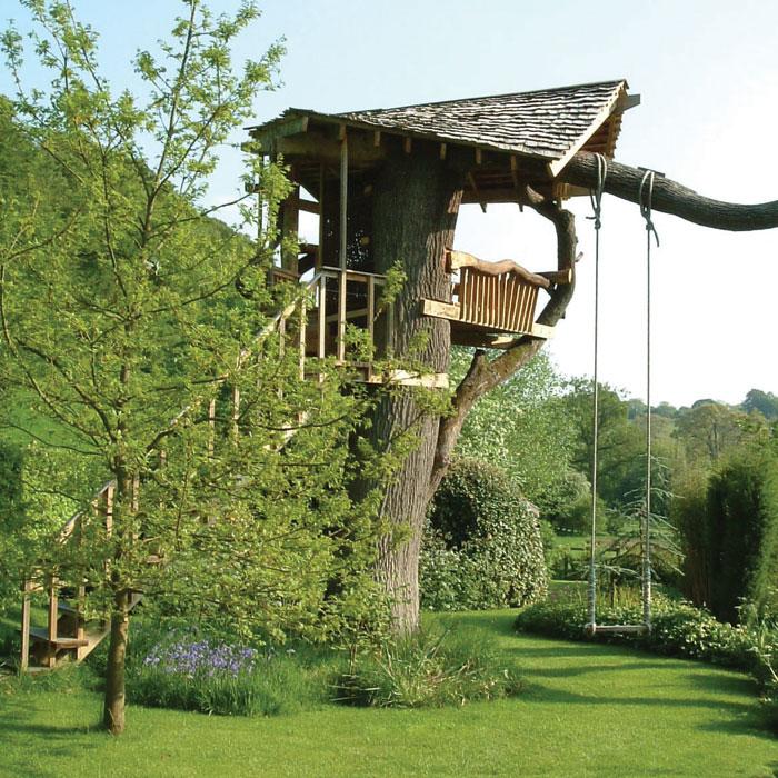 Paulmead Treehouse in the Cotswoldsby Miller Howard Workshop