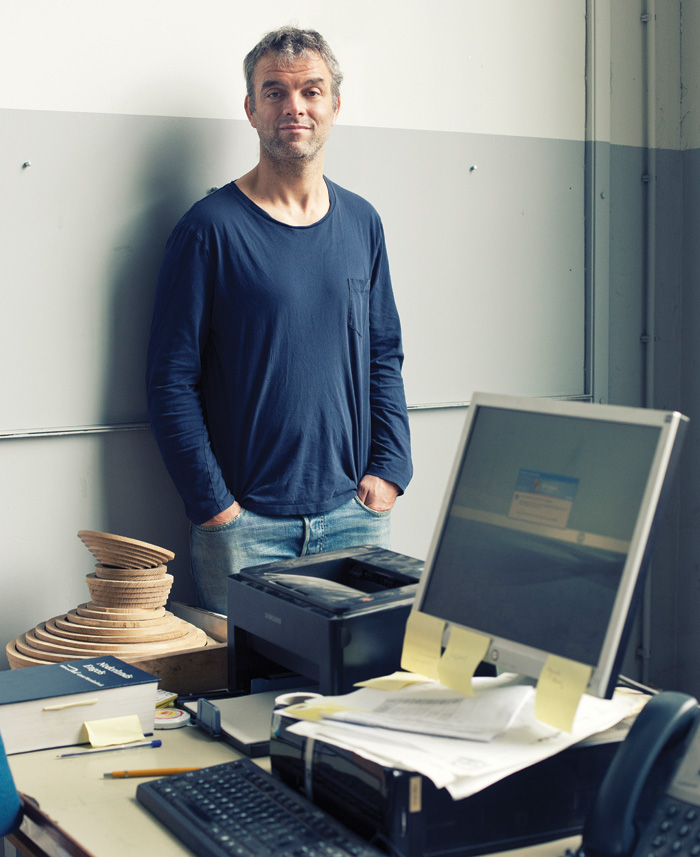 Piet Hein Eek — it's pronounced: Pete Hine Ache, in case you were wondering.... Image Credit: Lutz Hilgers