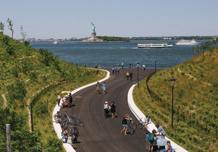 Governors Island - a floodproof park