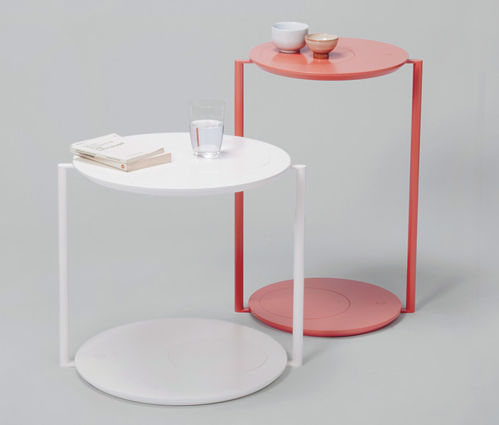 GITO and HATO side tables by diis