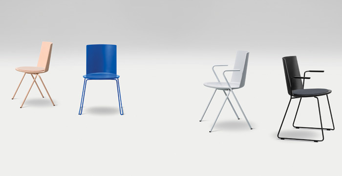 Acme chair designed by Geckeler Michels for Fredericia