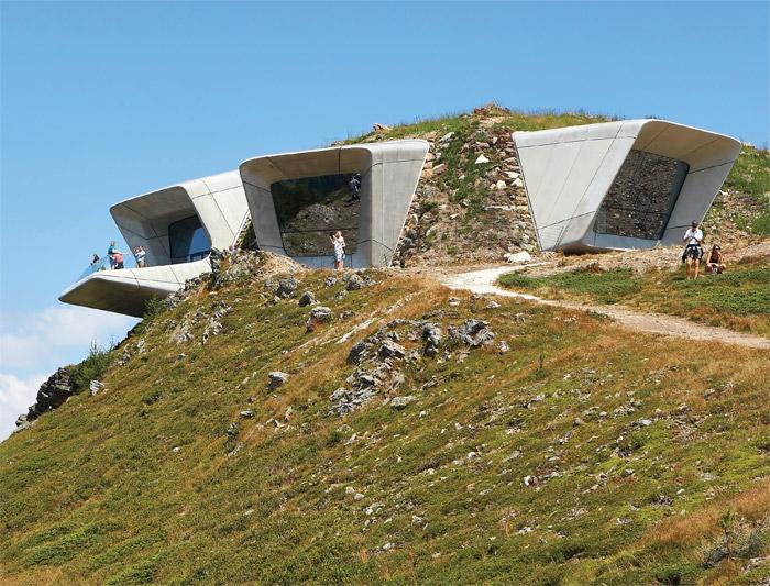 Messner Mountain Museum, Mount Kronplatz, Italy. Image Credit: Hufton+Crow