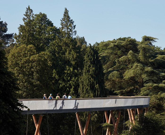 Glenn Howells Architects, UK Stihl Treetop Walkway, Westonbirt, Gloucestershire, UK