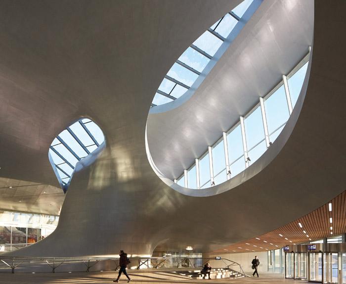 UNStudio, The Netherlands Arnhem Central Station, Arnhem, The Netherlands