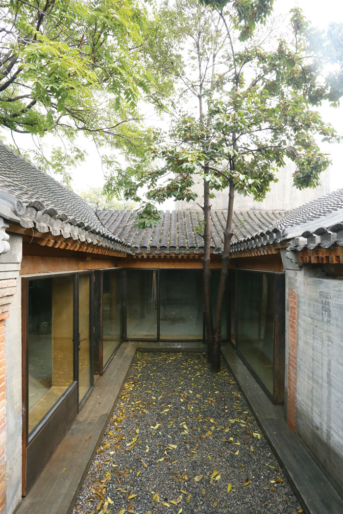 Zhang Ke's Co-Living Courtyard, one of the Baitasi Remade hutong projects