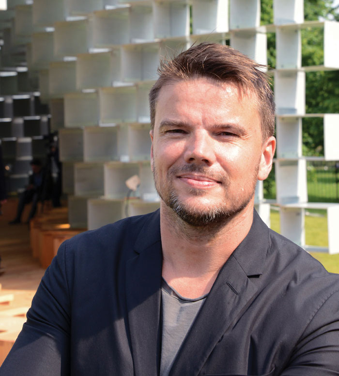 Bjarke Ingels, founder of Danish architecture practice BIG