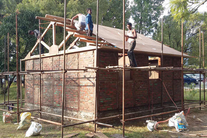 An example Ban's disaster relief development work in Nepal