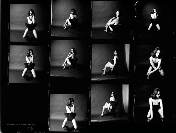 Christine Keeler photographed by Lewis Morley, 1963. Lewis Morley national Media Museum Science & society Picture Library