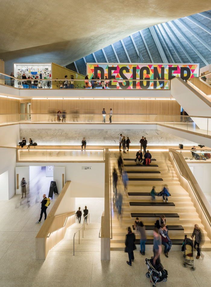 New home for the Design Museum is in the former Commonwealth institute building in Kensington