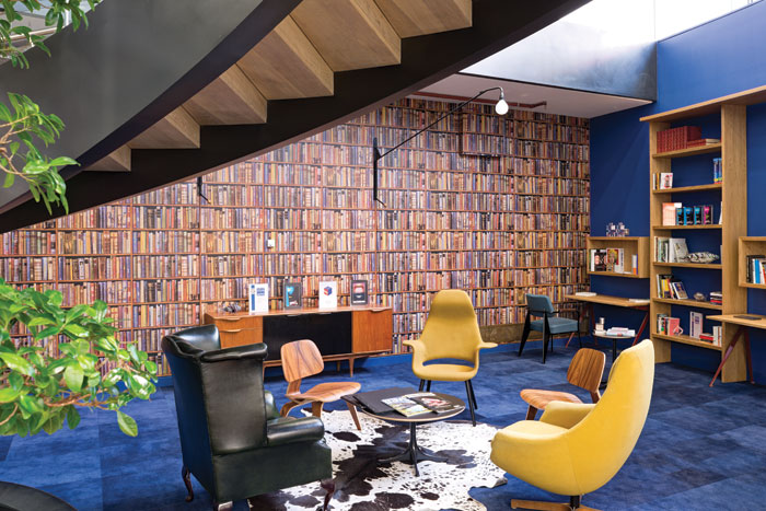 Offices for BrandOpus: The 1,765 sq m, three-storey off ice project was the practice's golden opportunity project: 'It turned out to be not only award-winning, but reputation-making,' the practice says. The design concept creates a 'home from home', in which creativity, people, information and communication are all promoted within the space.