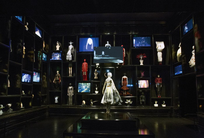 SFor Savage Beauty at the V&A, light level restrictions to protect fashion designer Alexander McQueen's creations had to be balanced with generating the heightened sense of drama each show created.