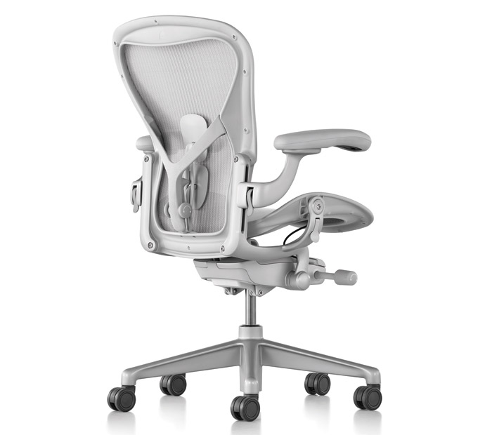The new Aeron remastered, showing a familiar aesthetic, goes on sale this year