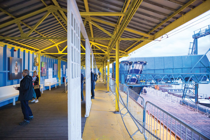 Featuring in the Estuary Festival was the Tilbury Cruise Terminal at Tilbury Docks
