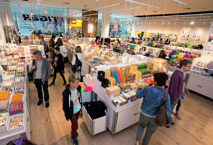 Tiger started life as the Danish equivalent of a pound shop, but the way it cheerfully displays its wares heightens the impression of getting a bargain compared with the UK's utilitarian pound shop offerings