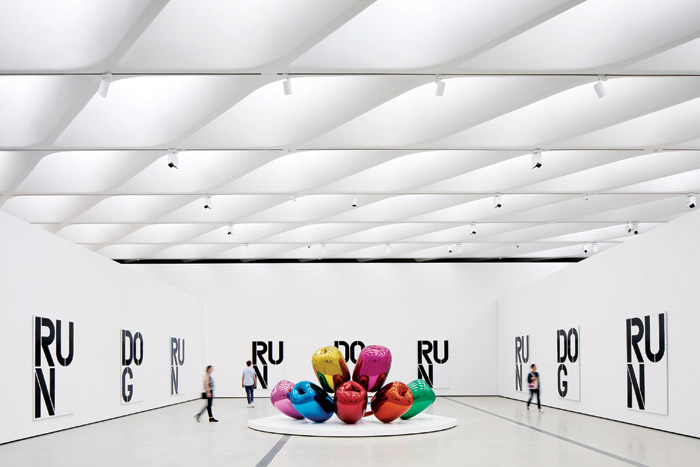 The Broad, by Diller Scofidlo + Renfro in collaboration with Gensler, in the Light & Surface Interior category