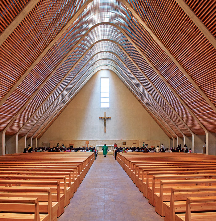 Sacred Heart Cathedral, by John McAslan + Partners in the Light & Surface Interior category