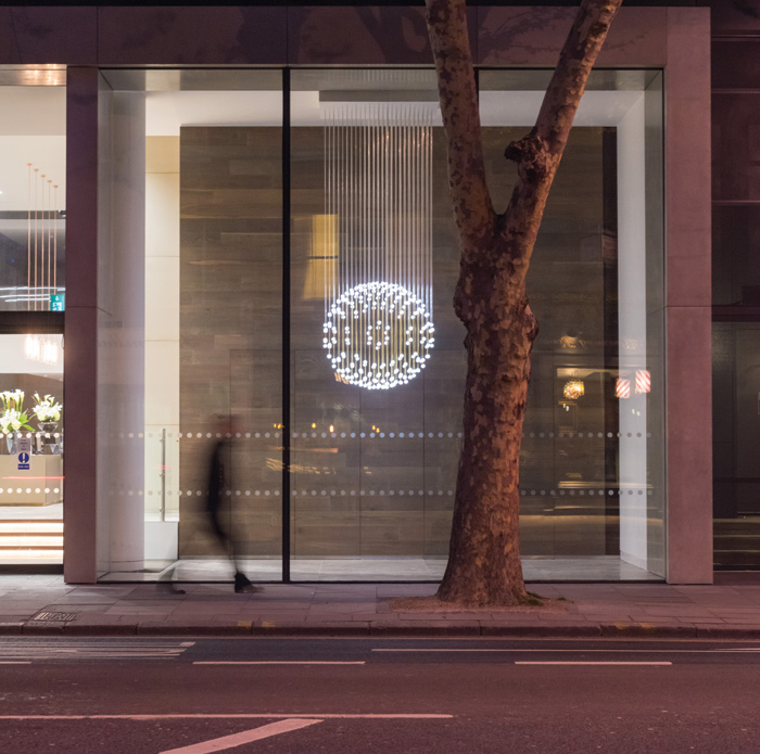 Equilibrium, at Lacon house, Conduit Street, central London for client Blackstone, completed this year