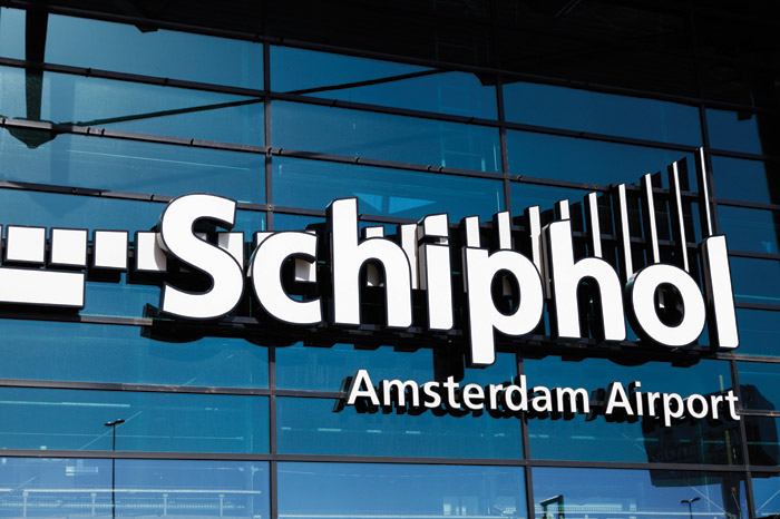 Amsterdam's Schipol Airport was one of the first to opt for a 'pay per lux' installation